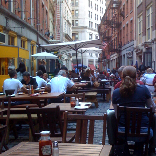 Late Lunch on Stone Street